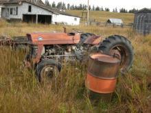 Massey Ferguson MF 135 UK farm tractor for sale